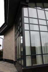 Деревянные окна из лиственницы с Белоруссии Астана